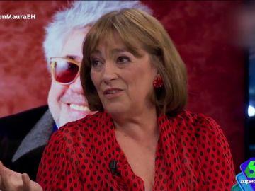 Carmen Maura confiesa cómo es su relación con Almodóvar