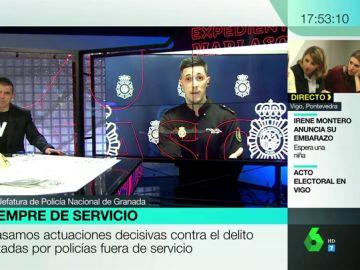 Hablamos con un policía fuera de servicio que logró frustrar un atraco en Granada