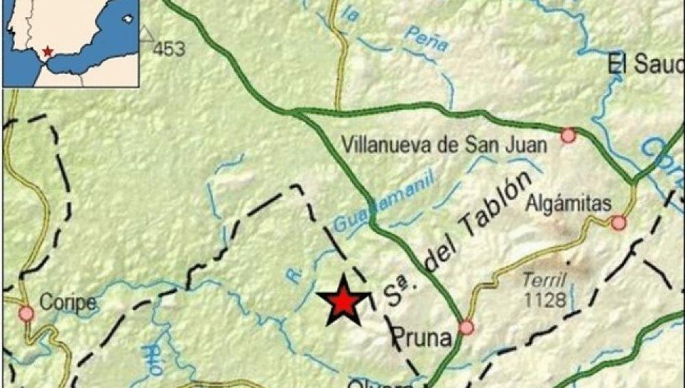 Terremoto de magnitud 4 en Olvera