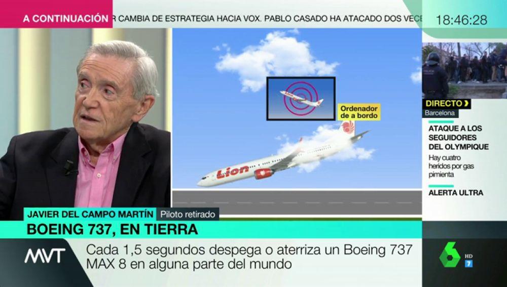 ¿Estaba entrenada la tripulación para utilizar el 'software' de control del avión Boeing 737 MAX 8?