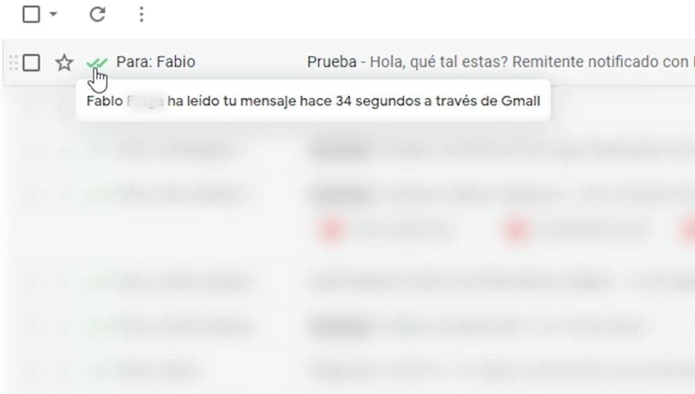 Doble check en Gmail