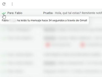 Doble check en Gmail