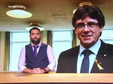 Puigdemont no es el primer candidato a las europeas huido de la justicia: Dani Mateo descubre quién fue pionero en España
