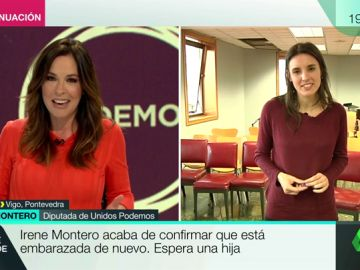 "Irene Montero: ""Tengo tres poderosas razones para mejorar la sociedad"""