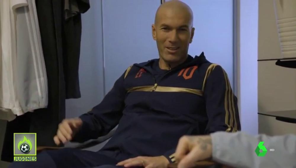La frase viral de Zidane en una conversación con David Beckham