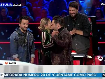 David Bustamante y Karol G muestran su complicidad bailando kizomba en 'La Voz'