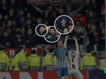 Cristiano Ronaldo podría recibir un partido de sanción: la foto que demuestra que hizo el gesto a la afición del Atleti