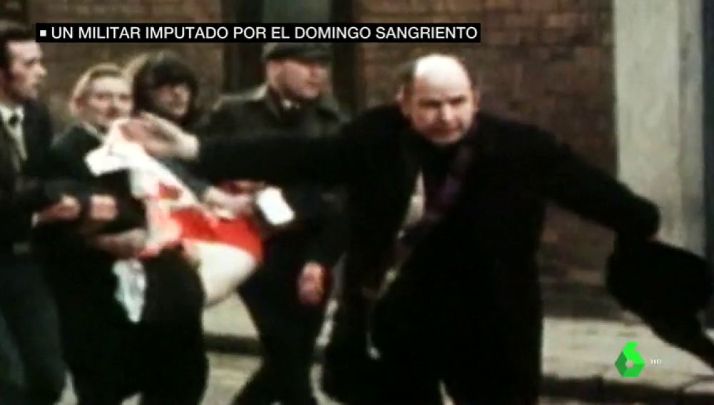 14 manifestantes católicos desarmados eran acribillados por soldados