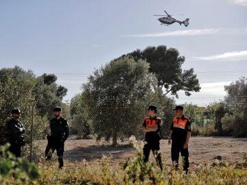 La Guardia Civil busca a dos menores, uno de pocos meses de edad y otro de tres años, desaparecidos en Godella