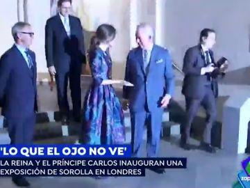 Así fue el encuentro entre la reina Letizia y el príncipe Carlos