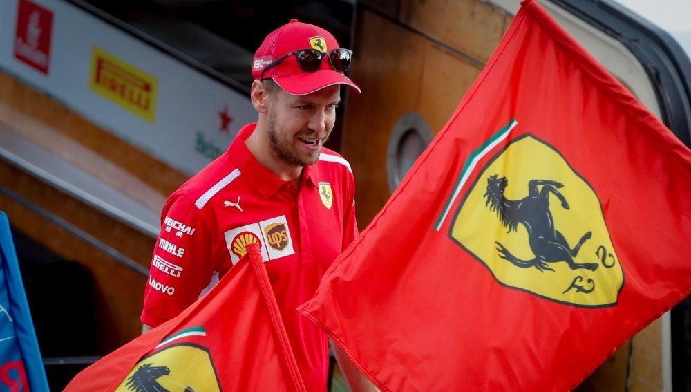 Sebastian Vettel, en Australia