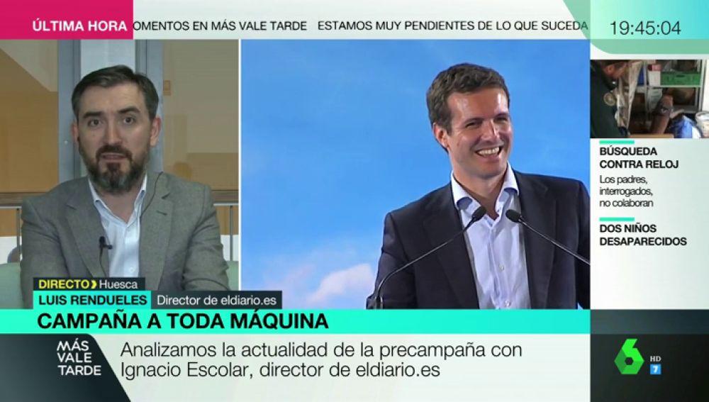 """Ignacio Escolar: """"Las fake news las está creando el PP con sus desmentidos"""""""