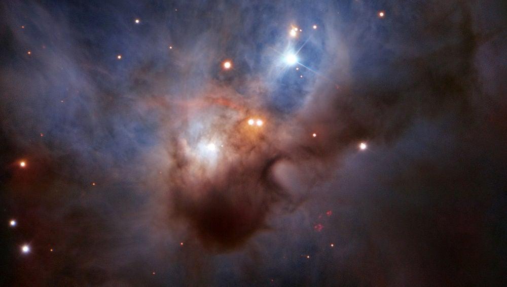 Un murcielago cosmico revolotea en la constelacion de Orion