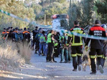 Equipos de rescate en Godella (Valencia)