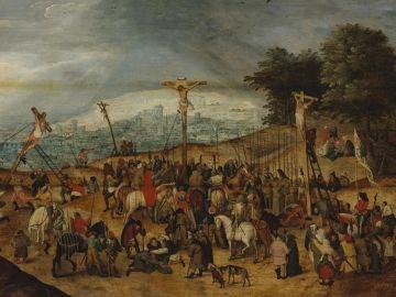 El cuadro de 'La Crucifixión', del pintor flamenco Pieter Brueghel el Joven.