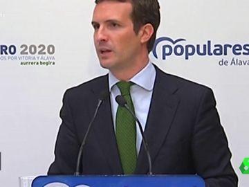 """#VídeosManipulados: El enfado de Casado al hablar del """"poder"""": """"Vengo aquí a achicharrarme por España"""""""