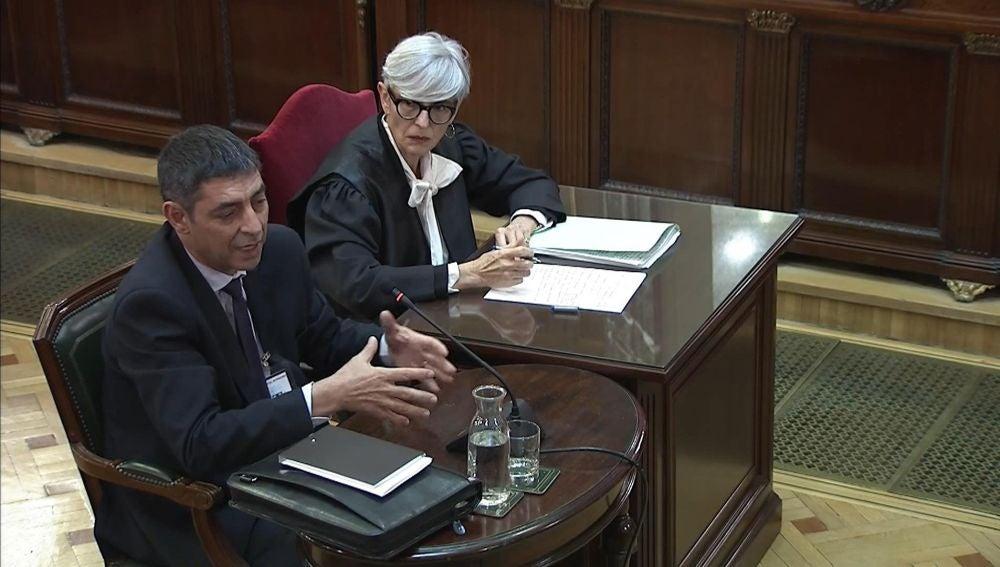La declaración de Josep Lluís Trapero, jefe de los Mossos d'Esquadra durante el 1-O