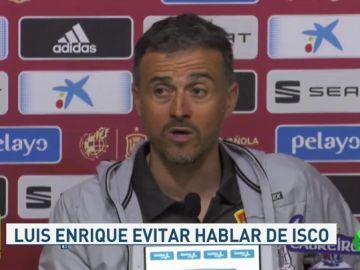 """Luis Enrique: """"¿Isco? No he llamado a Solari, sé cómo entrenan los futbolistas"""""""