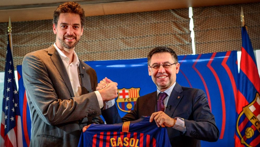 Pau Gasol vuelve al Barcelona como embajador global en EEUU