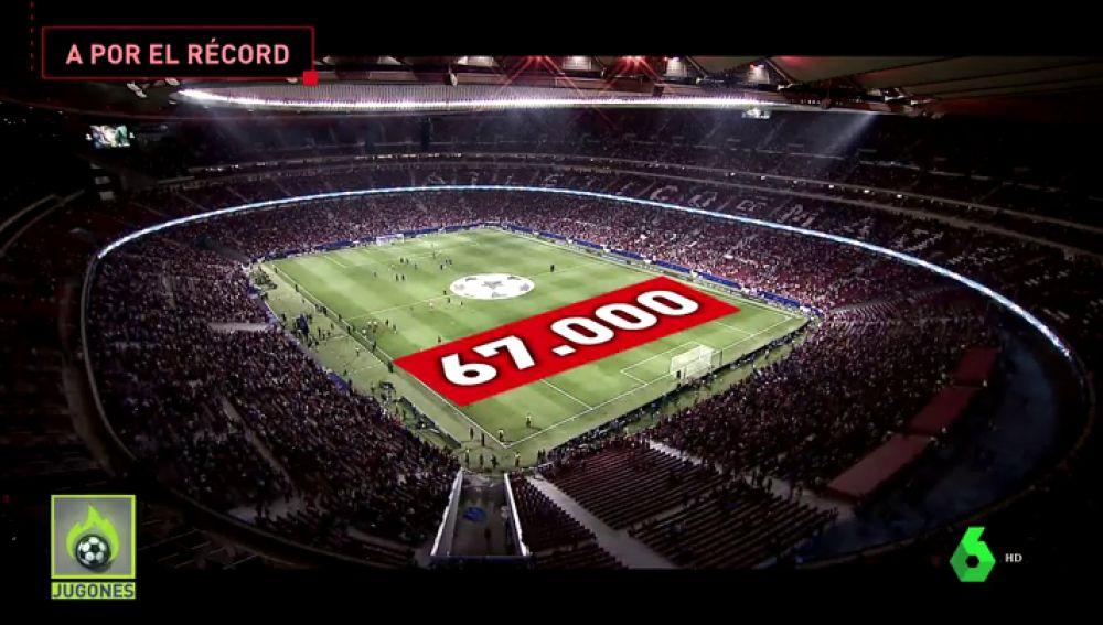 El Wanda cuelga el cartel de  no hay entradas  para el Atlético vs Barça 878091270dc28