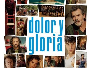Imagen del cartel de 'Dolor y gloria' de Pedro Almodóvar