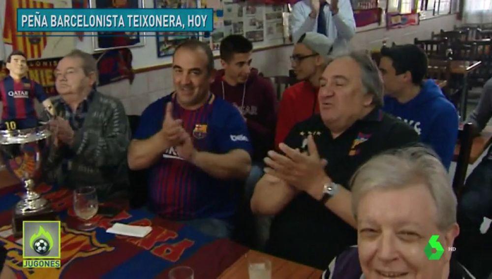 """La afición del Barcelona, feliz con el Manchester United: """"Chupado, ya tengo una reserva para el Metropolitano"""""""