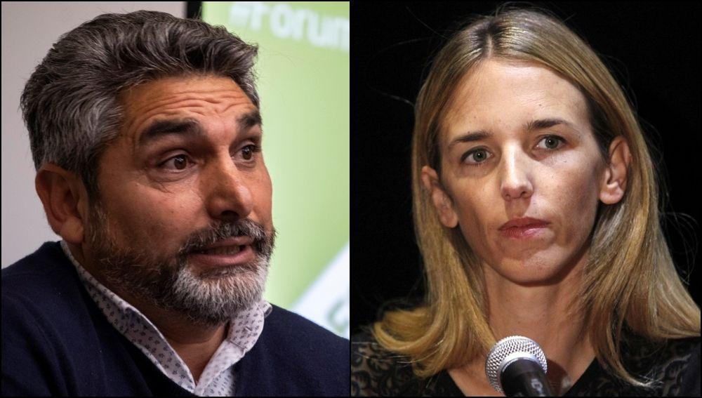 Juan José Cortés y Cayetana Álvarez de Toledo, números uno del PP por Huelva y Barcelona, respectivamente