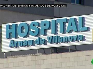 Imagen del hospital donde ha sido atendida la madre de los niños asesinados