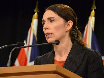 La primera ministra neozelandesa, Jacinda Ardern