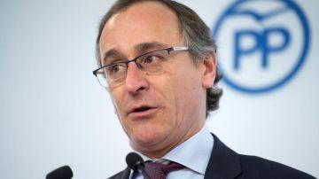 El hasta ahora presidente del PP vasco, Alfonso Alonso
