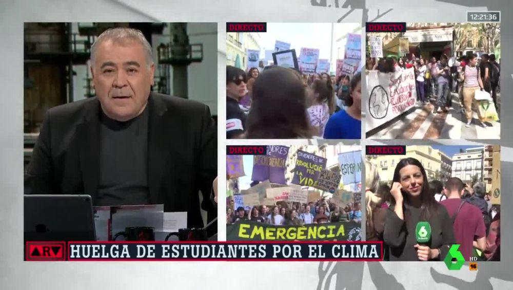 Manifestaciones contra el cambio climático