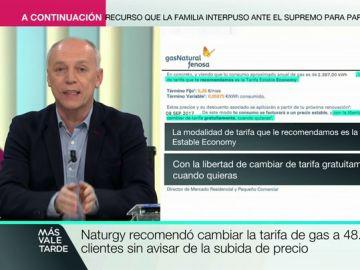 La CNMC multa con 1,2 millones de euros a Naturgy por cambiar condiciones a los clientes sin informar