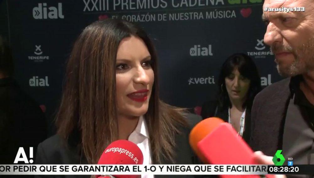 Laura Pausini responde de forma obscena a la relación entre Malú y Albert Rivera