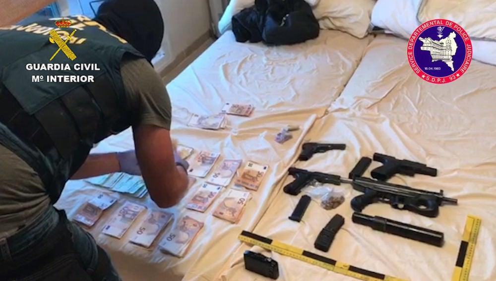 Operación contra el narcotráfico