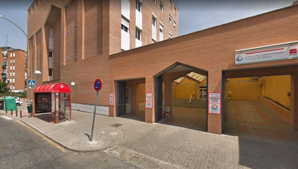 Centro de salud de la calle Coronel de Palma de Móstoles