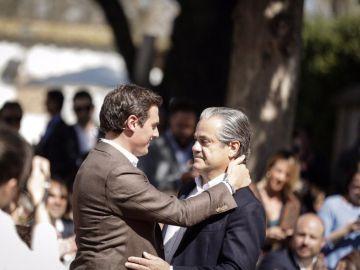 Albert Rivera con Marcos de Quinto