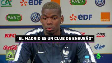 Pogba se deja querer por el Madrid