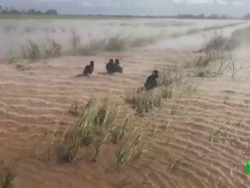 Las escalofriantes imágenes que deja el ciclón 'Idai' en su paso por Mozambique