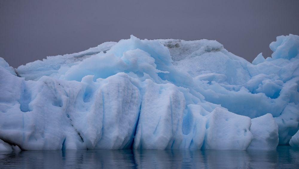 Glaciar en la Antártida