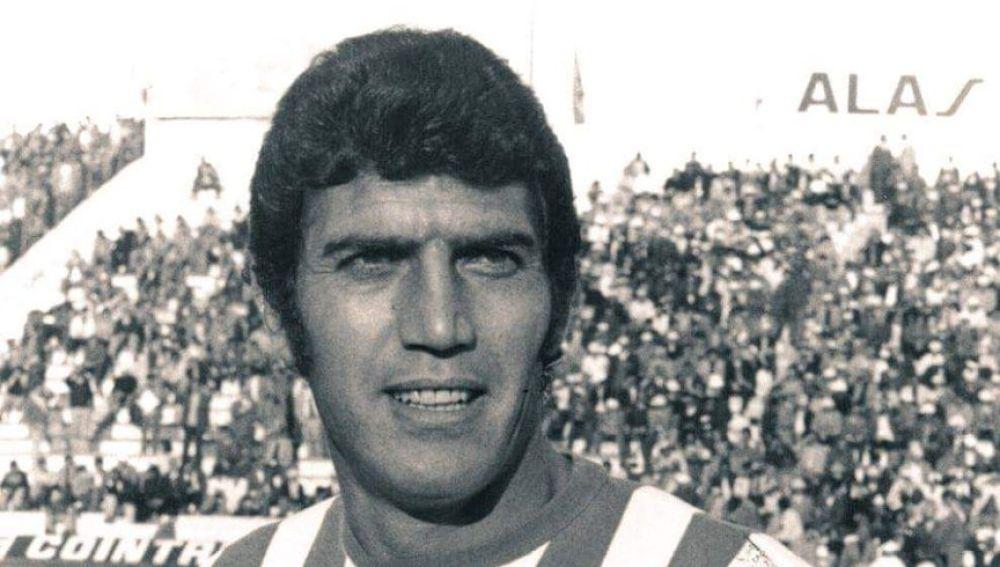Rogelio Sosa, mítico jugador del Betis