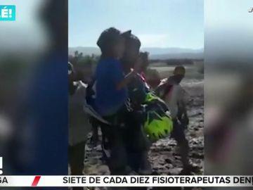 Rescatan a un niño de cinco años tras permanecer 24 horas desaparecido en el desierto