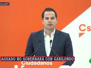 El candidato de Cs a la Comunidad de Madrid, Ignacio Aguado