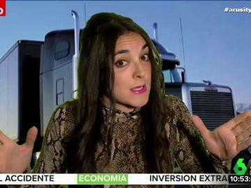 """Leonor Lavado 'en clave' de Maite Galdeano advierte a Alfonso Arús: """"He venido a decirte en riguroso directo que no lo estás haciendo bien"""""""