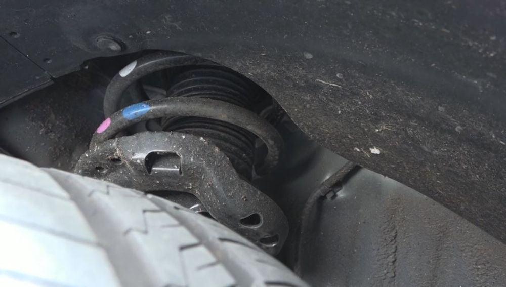 Amortiguadores del coche