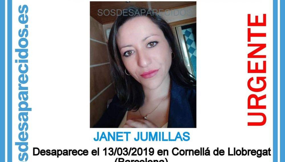 Janet Jumillas, la mujer de 39 años desaparecida en Cornellà