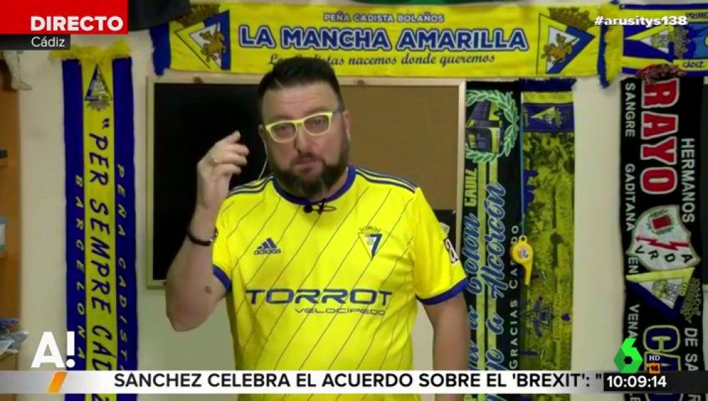 El cómico Toni Rodríguez inaugura su sección en Arusitys hablando de Falete