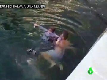 Un hombre en libertad bajo fianza por narcotráfico salva a una mujer de morir ahogada en Puerto Banús