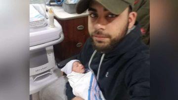 Imagen del padre de 24 años que mató a su bebé porque no paraba de llorar