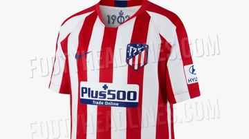 La posible nueva camiseta del Atlético de Madrid