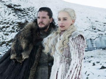 Daenerys y Jon en la última temporada de 'Juego de Tronos'